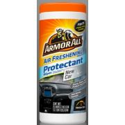Armor All New Car Air Freshening Protectant Wipes, 25 count per pack -- 6 per case