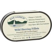Bar Harbor Wild Herring Fillet with Cracked Pepper, 6.7 Ounce -- 12 per case