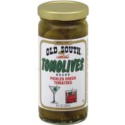 Old South Tomolives Pickled Green Tomatoes, 8 Ounce -- 12 per case