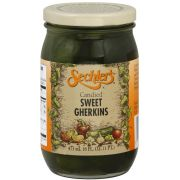 Sechlers Candied Sweet Gherkins, 16 Ounce -- 6 per case
