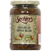Sechlers Sweet and Mild Hungarian Relish, 16 Ounce -- 6 per case