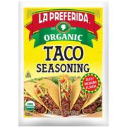 La Preferida Organic Taco Seasoning, 1 Ounce -- 12 per case