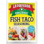 La Preferida Organic Fish Taco Seasoning, 1 Ounce -- 12 per case