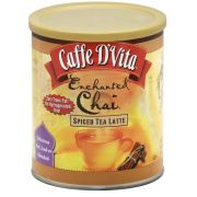 Caffe D Vita Enchanted Chai Spiced Tea Latte, 16 Ounce -- 6 per case
