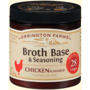 Orrington Farms Natural Chicken Broth Base and Seasoning, 6 Ounce -- 6 per case