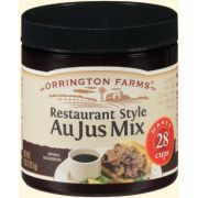 Orrington Farms All Natural Restaurant Style Au Jus Granular Mix, 6 Ounce -- 6 per case