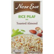Near East Toasted Almond Rice Pilaf Mix, 6.6 Ounce -- 12 per case