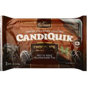 Log House Candiquik Chocolate Candy Coating, 16 Ounce -- 12 per case