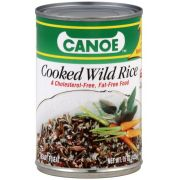 Canoe Cooked Wild Rice, 15 Ounce -- 12 per case