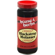 House of Herbs Black Strap Molasses, 16 Ounce -- 12 per case