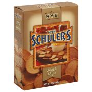 Win Schulers Rye Snack Chips, 7 Ounce -- 12 per case