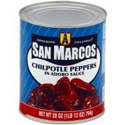 San Marcos Chipotle Peppers in Adobo Sauce, 28 Ounce -- 12 per case