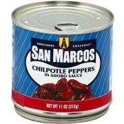San Marcos Chipotle Peppers in Adobo Sauce, 11 Ounce -- 12 per case