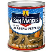 San Marcos Sliced Jalapeno Pepper, 26 Ounce -- 12 per case