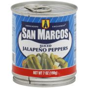 San Marcos Sliced Jalapeno Pepper, 7 Ounce -- 12 per case