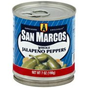 San Marcos Whole Jalapeno Pepper, 7 Ounce -- 24 per case
