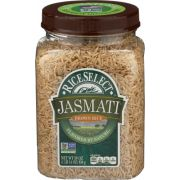 Rice Select Jasmati Brown Rice, 30 Ounce -- 4 per case