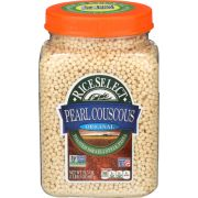 Rice Select Plain Pearl Couscous, 24.5 Ounce -- 4 per case