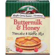 Maple Grove Buttermilk and Honey Pancake and Waffle Mix, 24 Ounce -- 6 per case