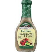 Maple Grove Fat Free Poppyseed Dressing, 8 Ounce -- 6 per case