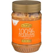 Crazy Richards Chunky Peanut Butter, 16 Ounce -- 3 per case