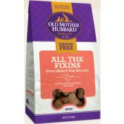 Old Mother Hubbard Grain Free Mini All The Fixins Dog Treat, 16 Ounce -- 6 per case