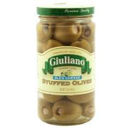 Giuliano Blue Cheese Stuffed Olives, 6.5 Ounce -- 6 per case