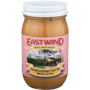 East Wind Natural Smooth Peanut Butter, 16 Ounce -- 6 per case