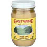 East Wind Organic No Salted Roasted Tahini Nut Butter, 16 Ounce -- 6 per case