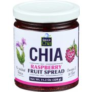 World Of Chia Raspberry Fruit Spread, 11.3 Ounce -- 6 per case