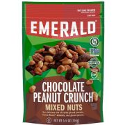 Emerald Salty Sweet Chocolate Peanut Butter Mixed Nuts, 5.5 Ounce -- 6 per case.
