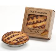 Old Fashioned 4 inch Mini Chocolate Eclair Pie, 4 Ounce -- 36 per case.