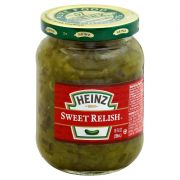 Sweet Green Relish,  10 Ounce -- 12 Case