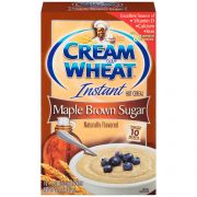 B and G Cream of Wheat Instant Maple Brown Sugar Hot Cereal, 1.5 Ounce -- 120 per case.