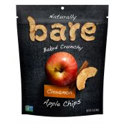 Bare Natural Cinnamon Apple Chips, 3.4 Ounce -- 12 per case.