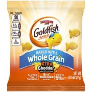 Goldfish Baked with Whole Grain Xtra Cheddar Crackers, 0.75 Ounce -- 300 per case.