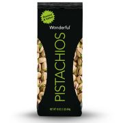 Wonderful Roasted Salted Pistachios, 16 Ounce -- 20 per case.
