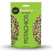 Wonderful Roasted Salted Shelled Pistachios, 6 Ounce -- 10 per case.