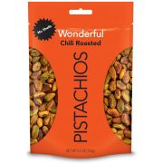 Wonderful No Shell Chili Roasted Pistachios, 5.5 Ounce -- 10 per case