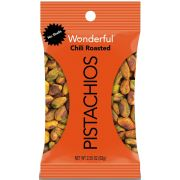 Wonderful No Shell Chili Roasted Pistachios, 2.25 Ounce -- 24 per case