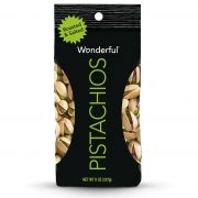 Wonderful Roasted Salted Pistachios, 8 Ounce -- 25 per case.