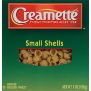 Creamette Small Shells, 7 Ounce -- 12 per case.
