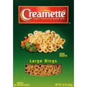 Creamette Large Ring Pasta, 16 Ounce -- 12 per case.