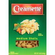 Creamette Medium Shells Pasta, 16 Ounce -- 12 per case.