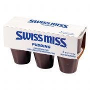 Conagra Swiss Miss Chocolate Pudding, 3.5 Ounce -- 48 per case.