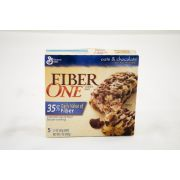 Fiber One Oats and Chocolate Chewy Granola Bar, 5 count per pack -- 12 per case.