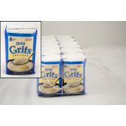 General Mills White Corn Grits, 32 Ounce -- 12 per case.
