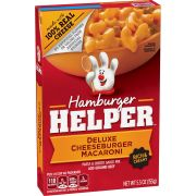 Hamburger Helper Deluxe Cheeseburger Macaroni, 5.5 Ounce -- 12 per case.