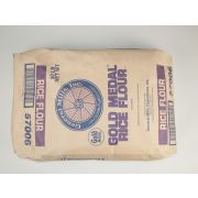Gold Medal Untreated Rice Flour, 50 Pound -- 1 each.
