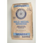 Wondra Bleached Enriched Malted Quick Mixing Instant Flour, 50 Pound -- 1 each.